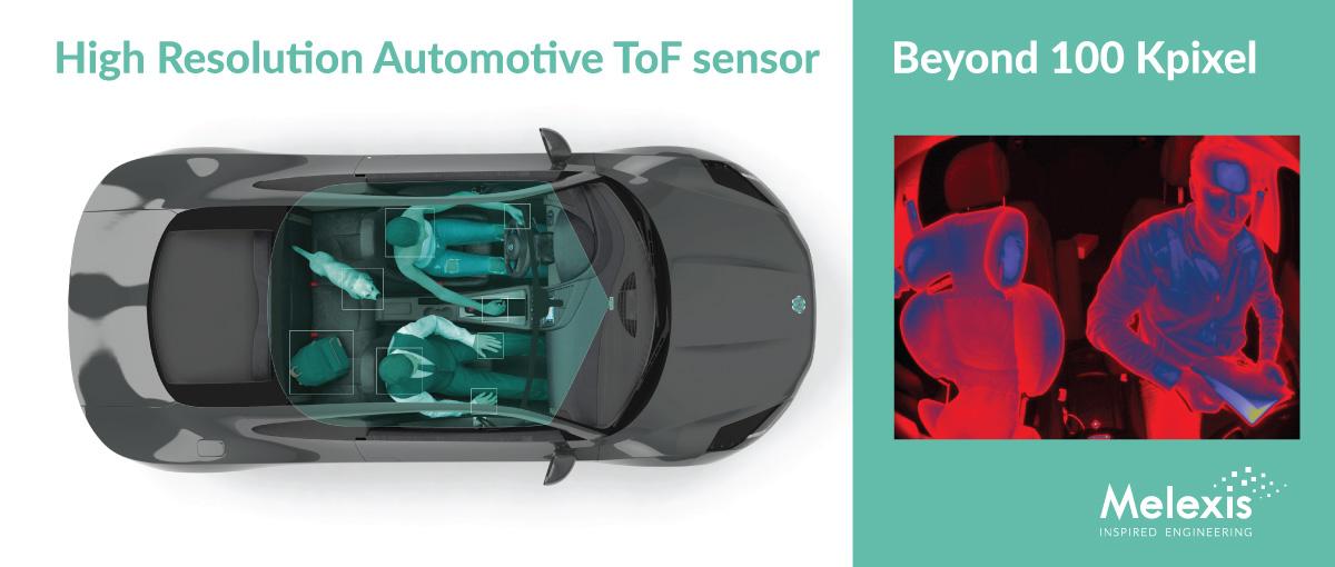 High Resolution Automotive ToF Sensor - Melexis