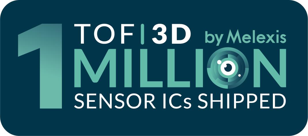1 million Melexis TOF sensor ICs shipped