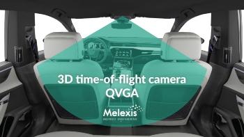 3D time-of-flight camera QVGA #melexis