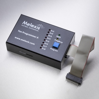 Fandriver Programmer A - multi-channel programming for MLX90411 and MLX90412