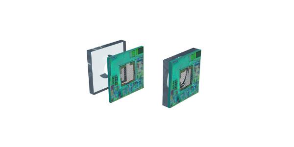 Relative integrated pressure sensor IC for mid pressures
