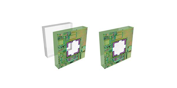 Absolute integrated pressure sensor
