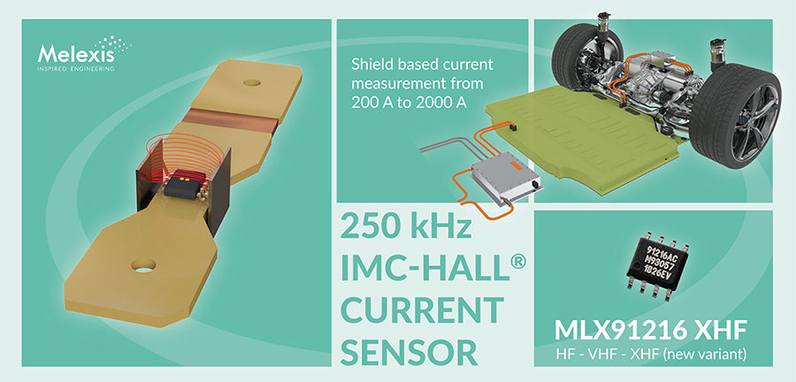 250 kHz IMC-Hall® current sensor with improved diagnostics #Melexis