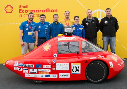 STEM project in Sofia - Shell Eco Marathon - Melexis